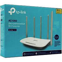 Бездротовий маршрутизатор Wi-Fi TP-Link Archer C60, Новий Роутер Двохдіапазонний на 5 антен