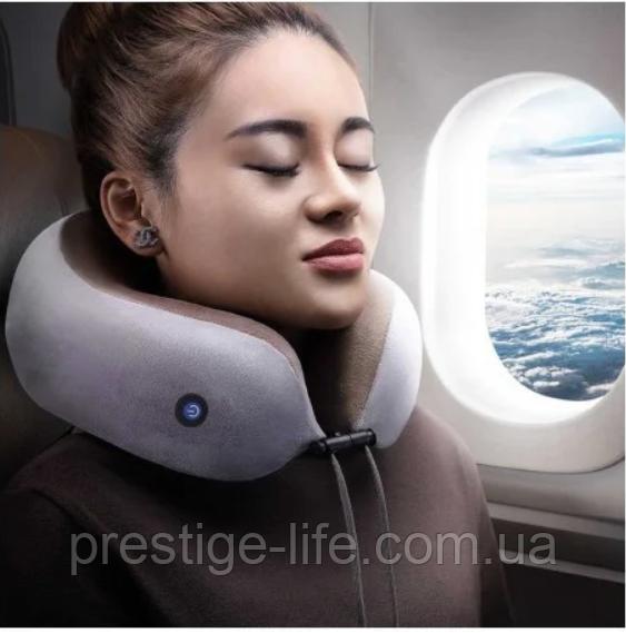 Подушка массажная U-Shaped Massage Pillow WM-11 для шеи