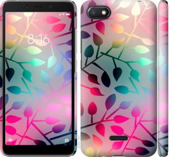 "Чехол на Xiaomi Redmi 6A Листья ""2235c-1531-15886"""