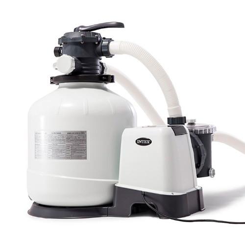 Песочный насос-фильтр-хлоргенератор Intex 26676 6000 л/ч 7 г/ч