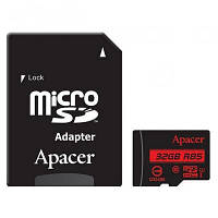 Карта памяти Apacer 32GB microSDHC class 10 UHS-I U1 (AP32GMCSH10U5-R)
