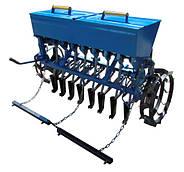 Сеялка зерновая 8-рядная для минитрактора Премиум