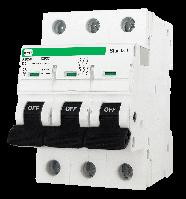 """Модульний автоматичний вимикач FB2-63 STANDART 6kА    """"D""""  3P  63А"""