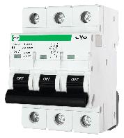 """Модульний автоматичний вимикач FB3-63 EVO 10kА    """"B""""  3P  6А"""