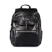 Женский городской рюкзак из искусственной кожи Spike черный