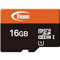 Карта памяти Team 16Gb microSDHC class 10 (TUSDH16GUHS05)