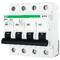 """Модульний автоматичний вимикач FB3-63 EVO 10kА    """"B""""  4P  25А"""