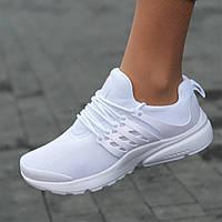 Кроссовки женские белые Air Presto (Код: М1668)