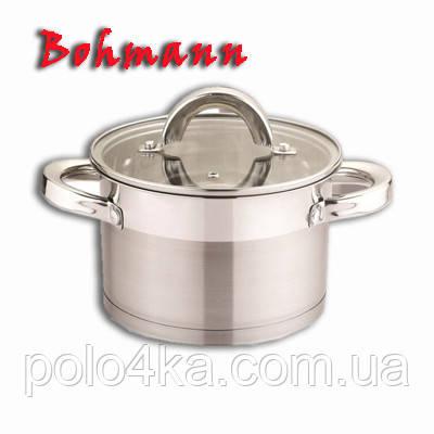 Кастрюля Bohmann BH 007-10 из нержавеющей стали 1,5литра