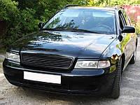 Реснички на фары Audi A4 B5 1994-2000 стеклопластик (под покраску) Orticar