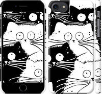 "Чехол на iPhone 7 Коты v2 ""3565c-336-15886"""