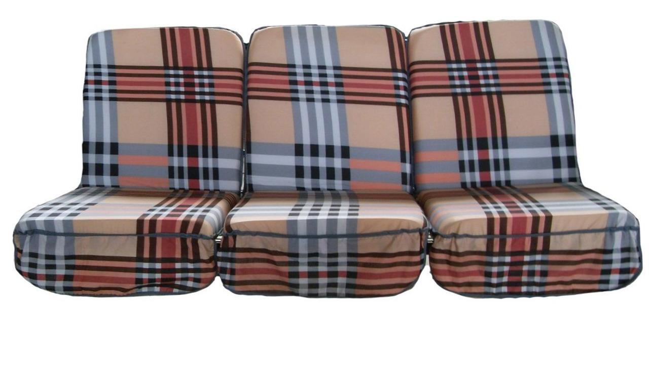 Комплект поролоновых подушек для садовой качели Арт. П-005