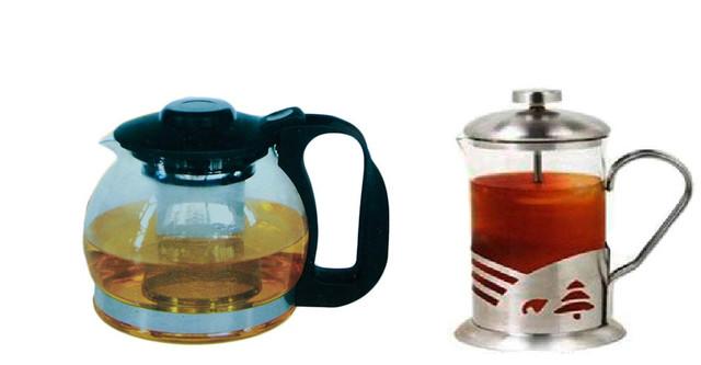 Заварочные чайники, френц-прессы