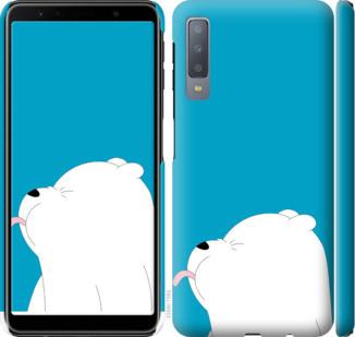 "Чехол на Samsung Galaxy A7 (2018) A750F Мишка 1 ""4358c-1582-15886"""