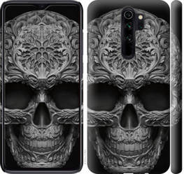 """Чехол на Xiaomi Redmi Note 8 Pro skull-ornament """"4101c-1783-15886"""""""