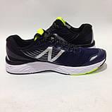 41,44 р. Мужские кроссовки в стиле New Balance 880 сетка летние синие, фото 4