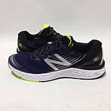 41,44 р. Мужские кроссовки в стиле New Balance 880 сетка летние синие, фото 6