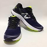 41,44 р. Мужские кроссовки в стиле New Balance 880 сетка летние синие, фото 3