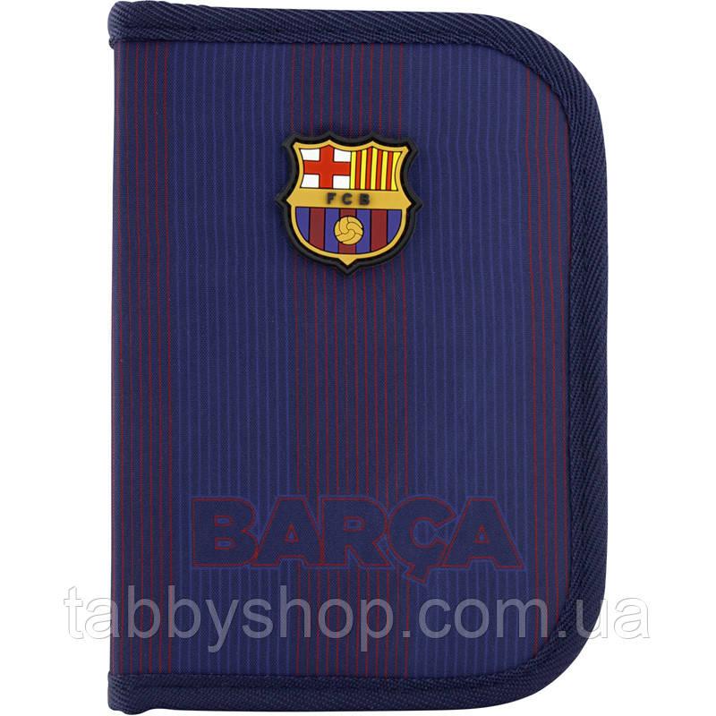 Пенал школьный KITE Education FC Barcelona 622