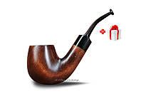 Трубка для курения KAF 226 Bent ручной работы из натурального дерева груши под фильтр 9 мм