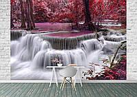 Фотообои Розовый водопад