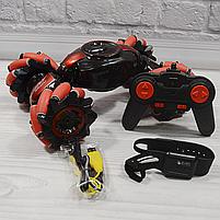 Машинка перевёртыш Stunt LH-C019S Управление жестами и обычным пультом (машинка вездеход с 2 пультами), фото 7
