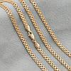 Цепочка Xuping 51602 размеры 50х3.5 см вес 10.8 г позолота 18К, фото 5