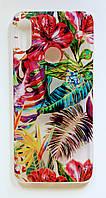 Чехол Fiji для Xiaomi Redmi Note 7 / Note 7 Pro / Global бампер с рисунком Gelius Flowers Shine Tropic