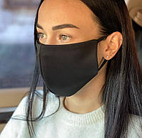 Комплект 5 шт Многоразовая медицинская защитная маска D9423 черная