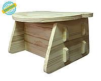 "Детский столик ""Baby desk"" Eva-Line дерево"
