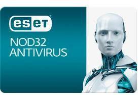 Програмна продукція ESET NOD32 Antivirus на 1 рік. Для захисту 2 об'єктів. (RC)