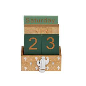 Календарь вечный Cactus SKL11-209012
