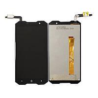Дисплей (LCD) Doogee (HomTom) Zoji Z8 с тачскрином, черный