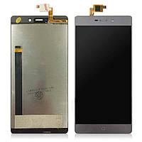 Дисплей (LCD) Elephone M3 з тачскріном, сірий