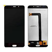 Дисплей (LCD) Elephone S7 с тачскрином, черный