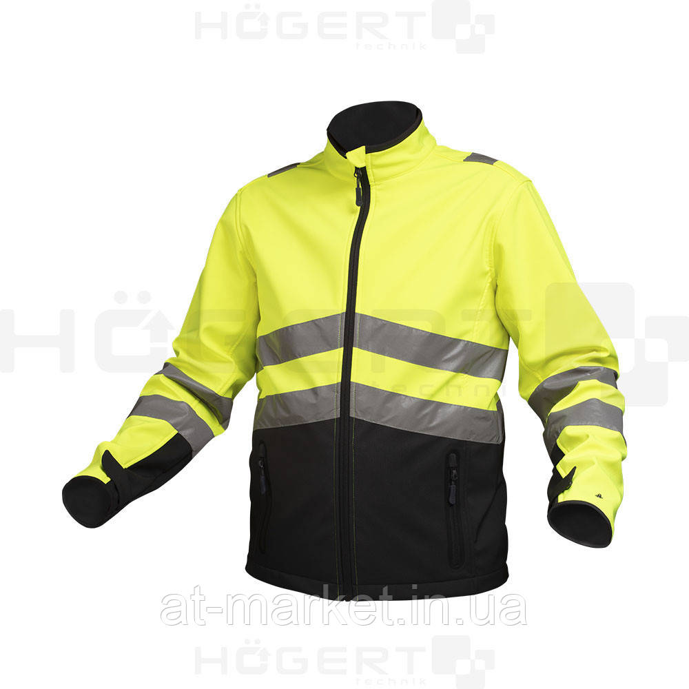Светоотражающая куртка софтшелл, размер 2XL HT5K353-2XL