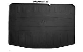 Коврик в багажник резиновый Stingray SUZUKI Vitara 2015