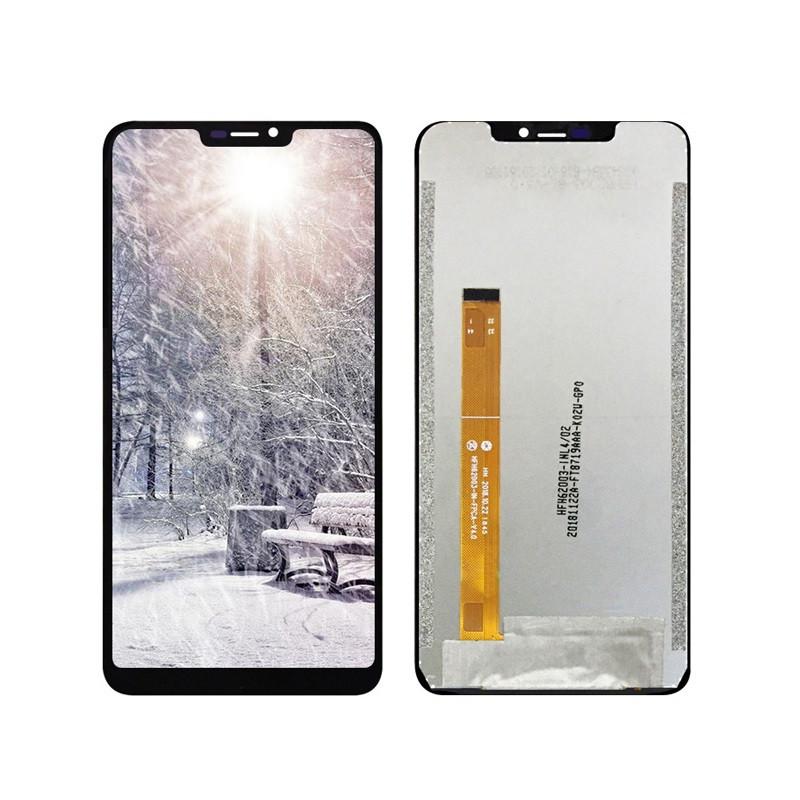 Дисплей (LCD) Oukitel U23 з тачскріном, чорний