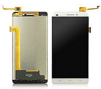 Дисплей (LCD) Oukitel U8 с тачскрином, белый