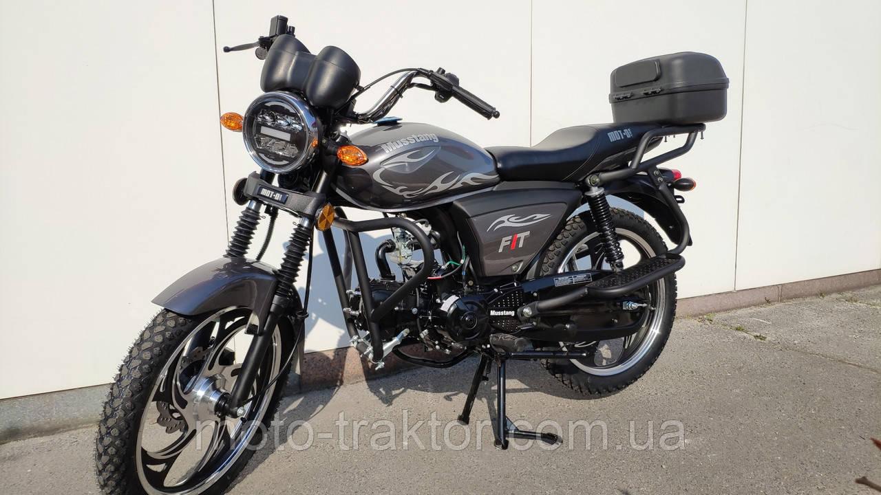 Мотоцикл Musstang Alfa MT125-8 Fit 2020