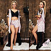Женский  велюровый домашний комплект-пижама (3 вещи). Цвета!