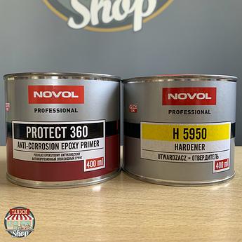 Грунт эпоксидный Novol Protect 360 1:1, 800 мл комплект
