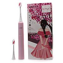 Электрическая звуковая зубная щетка Seago Sonic SG972-D, Pink (K1010050250), фото 7