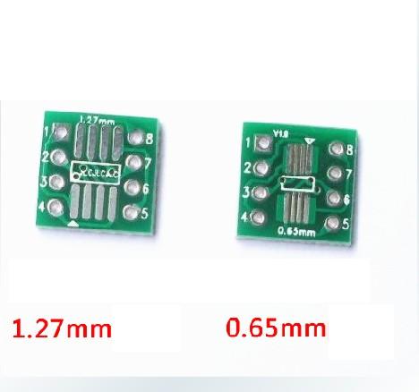 Плата адаптер перехідник SOP8 SSOP8 TSSOP8 SMD в DIP, фото 2