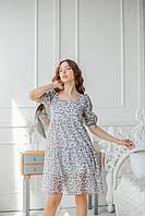 Летнее женское платье короткое, фото 2