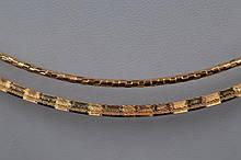 Гривна украшение на шею XUPING с позолотой