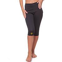 Женские бриджи для похудения антицелюллитные Hot Shapersс быстрым нагревомЧерный(ZD-4576) 44