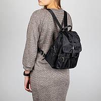 Рюкзак женский тканевой Spike черный