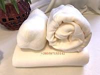 Флисовый косметологический комплект из 3х позиций: чехол на кушетку, плед и подушка