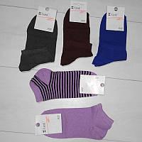 Носки женские демисезонные укороченные, КлассиК (размер 23-25)